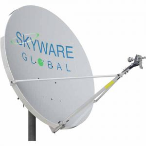 Skyware Type 127: 1.2m Rx/Tx Extended Ka-Band Antenna