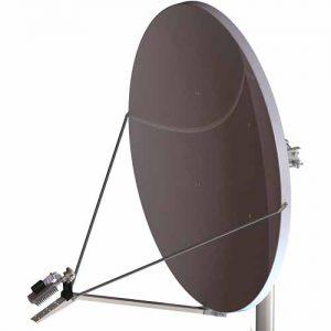 Skyware Type 185: 1.8m Rx/Tx Standard Ku-Band SFL Class III Antenna with Mode Matched Feed